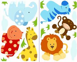 Baby Jungle Safari Clipart (78+)