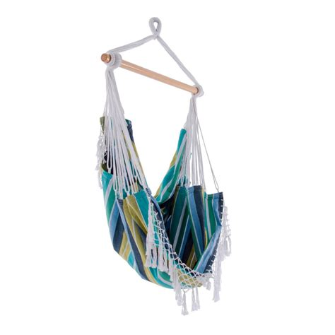 Vivere Hammock Chair by Vivere 2 5 Ft Cotton Hammock Chair In Cayo Reef