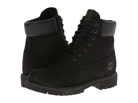 Black Boots : Women's Shoe Timberland 6 Inch Premium Waterproof Lace Up