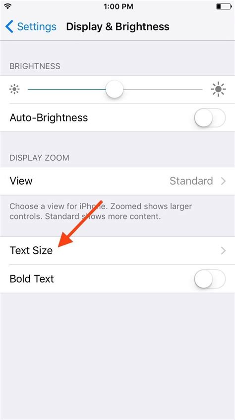 how to change text size on iphone how to change text size on your iphone or ipod