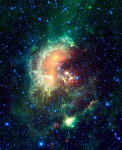 Space Images | Asteroid Caught Marching Across Tadpole Nebula