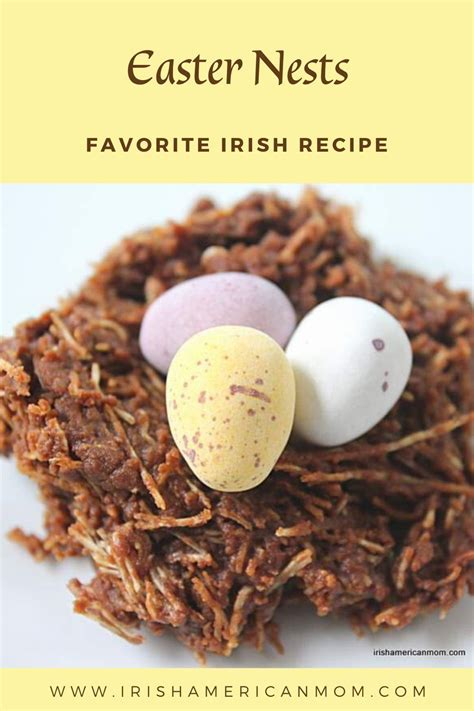 Best irish easter dinner from irish potatoes and wings easter dinner yelp. Chocolate Easter Nests   Irish American Mom   Recipe in 2020   Chocolate easter nests ...