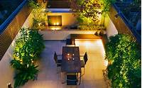 inspiring contemporary garden design Courtyard garden design ideas | contemporary garden ...