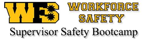 supervisor safety boot camp workforce safety training