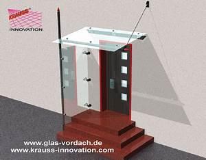 Vordach Glas Mit Seitenteil : glasdach als eingangsueberdachung von krauss gmbh ~ Watch28wear.com Haus und Dekorationen