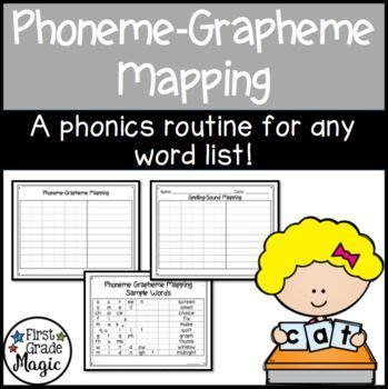 phonics  spelling  phoneme grapheme mapping