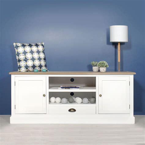 meuble tv blanc et bois meuble tv mdf blanc 2 portes 2 niches 1 tiroir en 2019 meubles tv en bois made in meubles