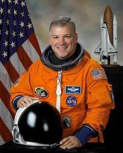 NASA Astronaut Gregory H. Johnson 8x10 Full Colour Portrait
