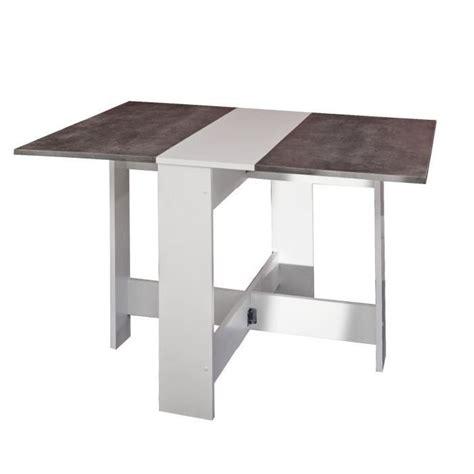 table a manger pliante table a manger cuisine curry pliante beton maison design