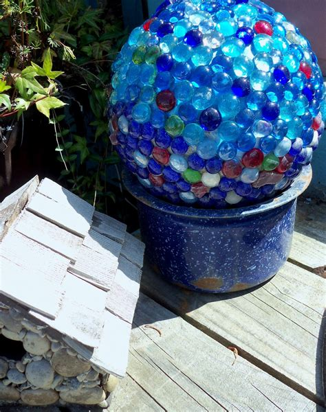 balls for garden make the best of things glass garden balls diy