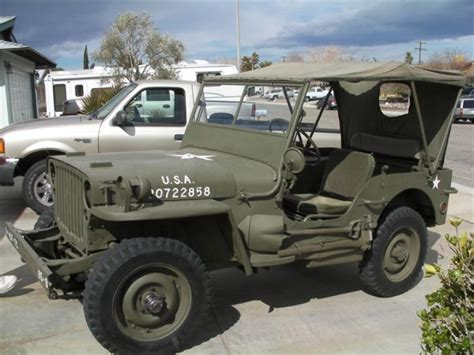 ford military jeep 1945 willy s military jeep amazing classic cars