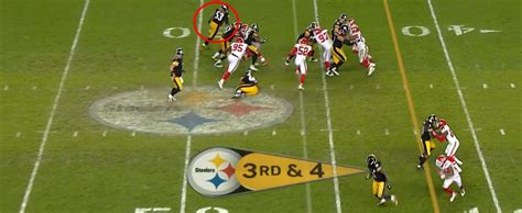 Maurkice Pouncey Help Leveon Bell Have An Absolutely Huge