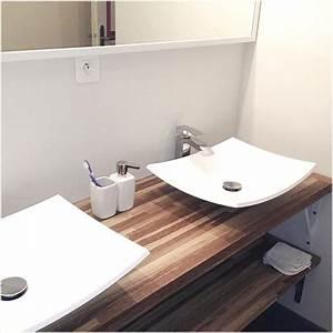 Salle De Bain Plan De Travail : meuble salle de bain plan de travail salle de bain design ~ Melissatoandfro.com Idées de Décoration