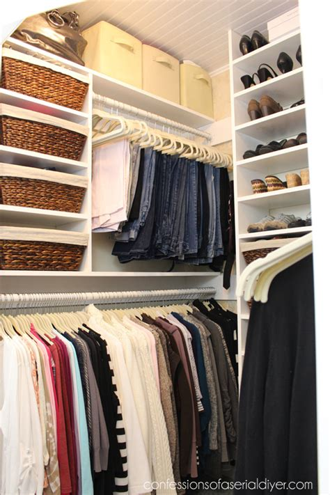 master closet makeover part 2 confessions of a serial