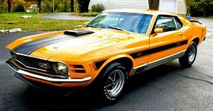 Yellow Ford Mustang Classic Hd Wallpapers | Best image Background
