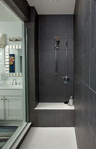 25 best ideas about dark gray bathroom on pinterest With what kind of paint to use on kitchen cabinets for men s bathroom wall art