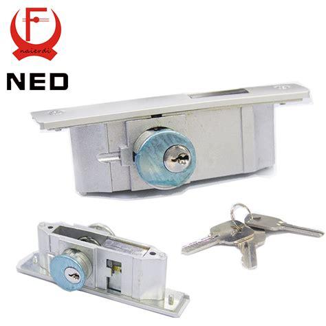 ned metal sliding door special aluminum alloy door lock