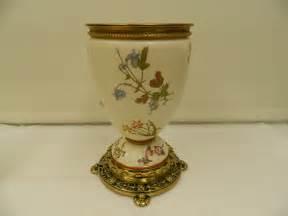 Antiques atlas rare royal worcester original oil lamp