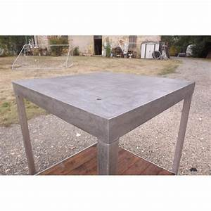 Table Fer Et Bois : table industrielle fer et bois ~ Teatrodelosmanantiales.com Idées de Décoration