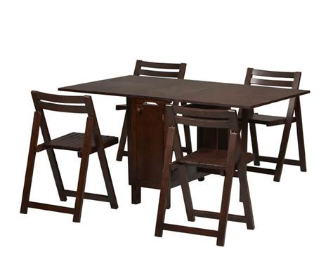 Space Saver Dining Set with Table and 4 Chairs   $413.99