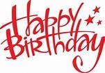 BIRTHDAY CLIP ART   Happy birthday words, Happy birthday ...
