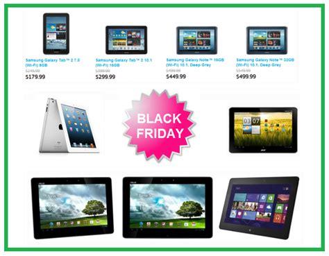 black friday tablet deals 2012 samsung asus acer