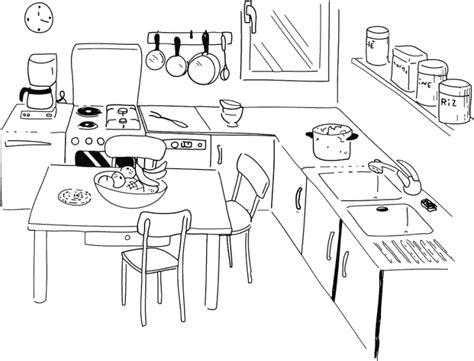 dessiner une cuisine en 3d gratuit 79 dessins de coloriage cuisine à imprimer sur laguerche