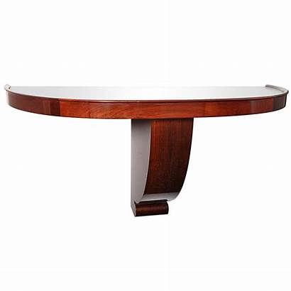 Wall Console Mounted Tables 1stdibs Lune Demi