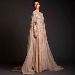 Lebanon Custom Women Prom Crystal Saudi Arabia Long Arab ...