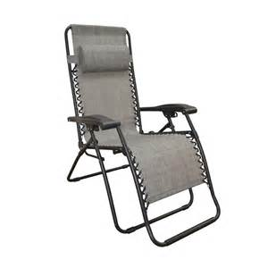 caravan sports infinity grey zero gravity patio chair
