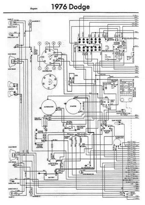 Wiring Diagram Dodge Aspen Circuit