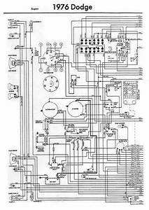 Wiring Diagram Of 1976 Dodge Aspen  60854