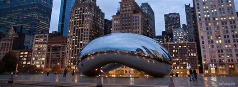 cloud gate chicago facebook cover