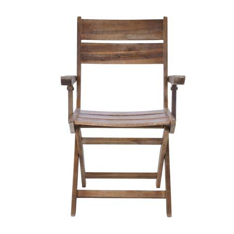 sedie giardino legno sedia da giardino con braccioli pieghevole in legno brigros