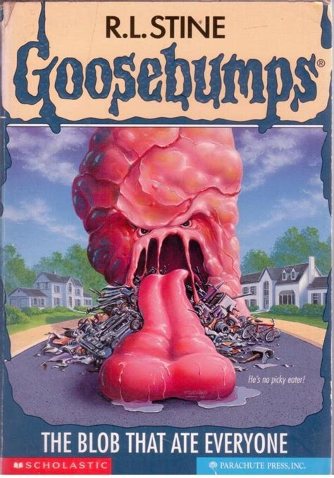 The Blob That Ate Everyone By R L Stine (paperback, 1997