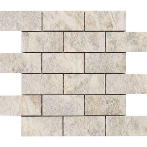 lowes mosaic tile shop style selections floriana glazed porcelain