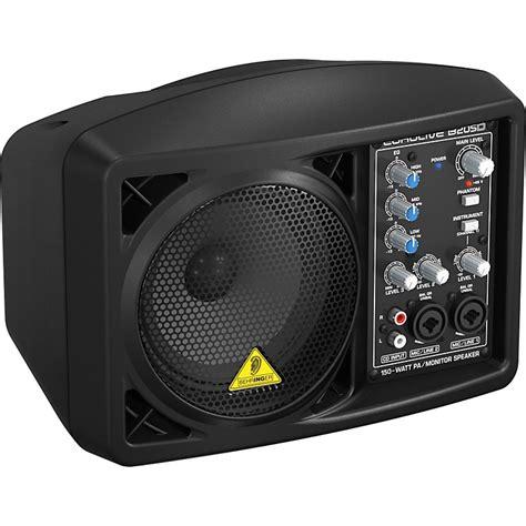 behringer b205d active monitor speaker behringer eurolive b205d active pa monitor speaker black musician s friend