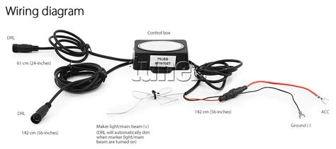 led daytime running light drl drive l for mitsubish l200 triton 2015 2017 tu 769572711980 ebay