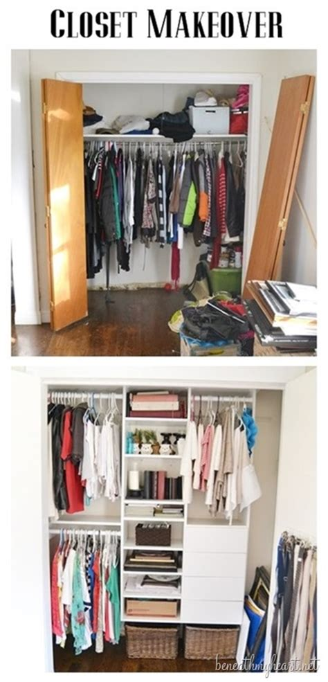 closet makeover beneath my