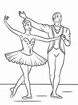 Ballerina Coloring Ballet Worksheet Worksheetschool Dance Beauty sketch template