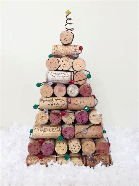 cork christmas tree wine cork tree cork tree by sassyclassychic