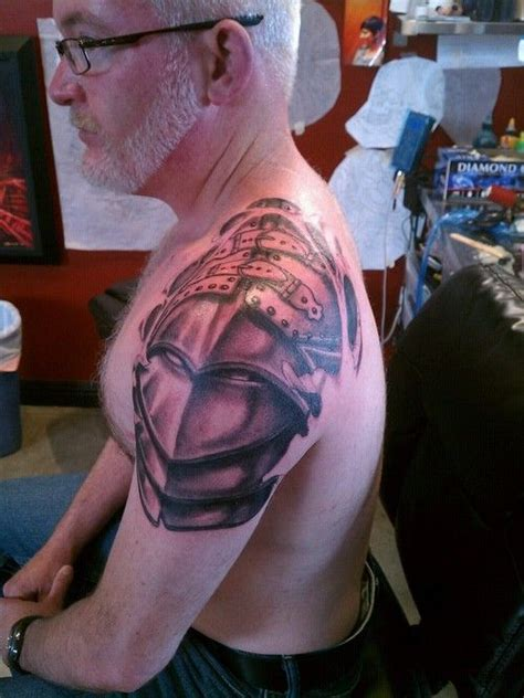 medieval armor tattoos ideas