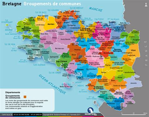 Carte Du Var Avec Toutes Les Villes by Info Carte De La Bretagne Avec Toutes Les Villes