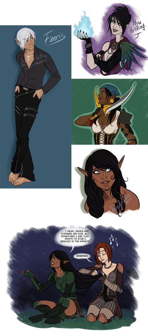 Dragon Age Kink Meme - dragon age sketch dump by ladyzolstice on deviantart