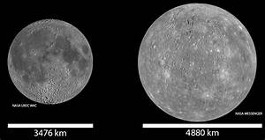 Mercury vs Moon (page 2) - Pics about space