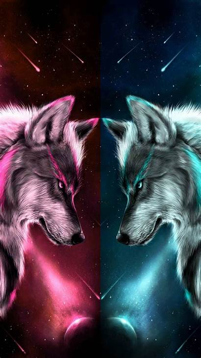 Wolf Wallpapers Rainbow Anime Iphone