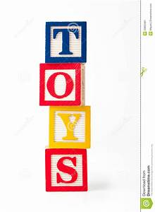 toy alphabet blocks stock illustration image of square With block letters toys