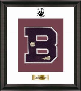 specialty framing instructions church hill classics With high school varsity letter pins