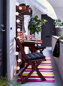 Ikea Table Balcon : 10 d corations pour am nager un balcon habitatpresto ~ Teatrodelosmanantiales.com Idées de Décoration