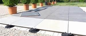 Plot Plastique Terrasse : dalles sur plots jardins de vend e ~ Edinachiropracticcenter.com Idées de Décoration